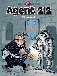 AGENT 212 20. KIPPENVEL AGENT 212, Cauvin, Raoul, Paperback