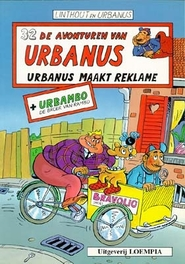 URBANUS 032. URBANUS MAAKT REKLAME Urbanus, Linthout, Willy, Paperback