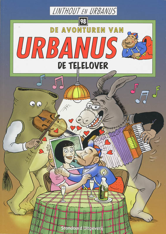 De telelover URBANUS, Linthout, Willy, Paperback