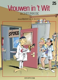 VROUWEN IN'T WIT 25. SCHEURBUIK VROUWEN IN'T WIT, BERCOVICI, PHILIPPE, CAUVIN, RAOUL, Paperback