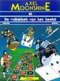 AXEL MOONSHINE 16. DE VUILNISBELT VAN HET HEELAL AXEL MOONSHINE, RIBERA, JULIO, GODARD, CHRISTIAN, Paperback