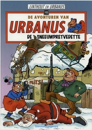 De sneeuwpretvedette URBANUS, Urbanus, Paperback