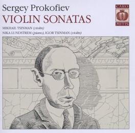 VIOLIN SONATAS MIKHAIL TSINMAN/IGOR TSINMAN/NIKA LUNDSTREM S. PROKOFIEV, CD