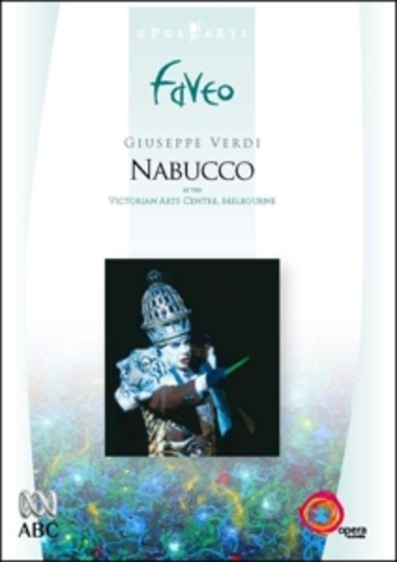 NABUCCO, VERDI, GIUSEPPE, CILLARIO, C.F. AUSTIN STATE OPERA ORCH./C.F.CILLARIO DVD, G. VERDI, DVD