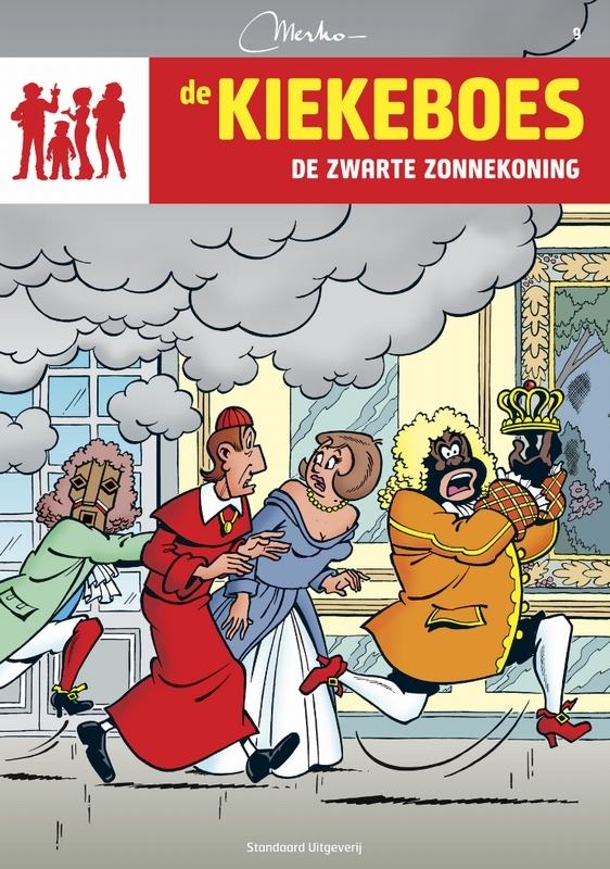 KIEKEBOES DE 009. DE ZWARTE ZONNEKONING KIEKEBOES DE, Merho, Paperback