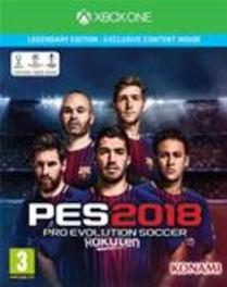 Pro Evolution Soccer 2018 (Legendary Edition)