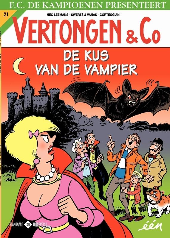 De Kus van de Vampier VERTONGEN & CO, Swerts & Vanas, Paperback
