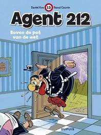 AGENT 212 13. BOVEN DE PET VAN DE WET AGENT 212, KOX, DANIËL, CAUVIN, RAOUL, Paperback