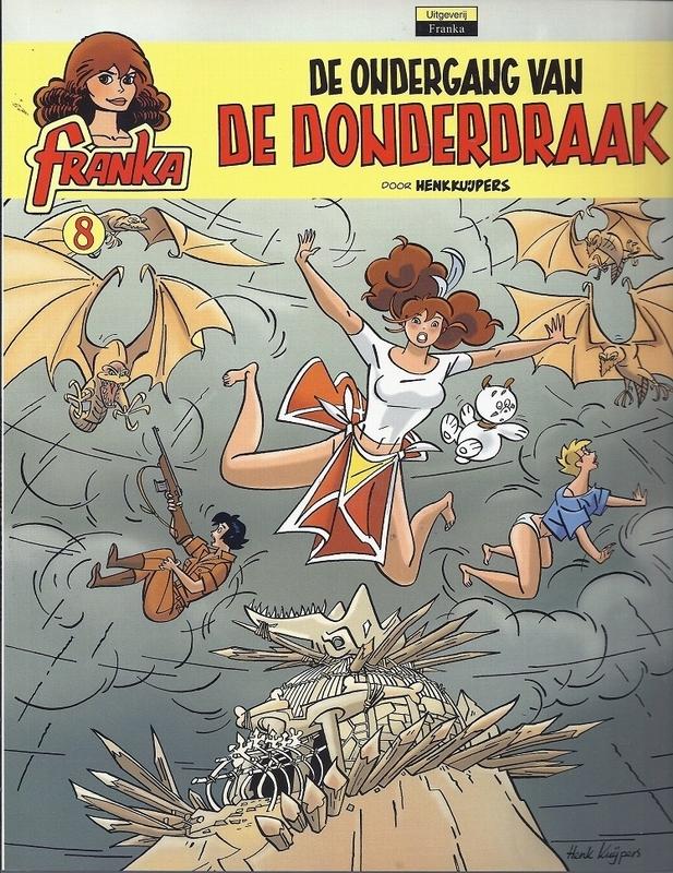 FRANKA 08. ONDERGANG VAN DE DONDERDRAAK (NIEUW) FRANKA, KUIJPERS, HENK, Paperback