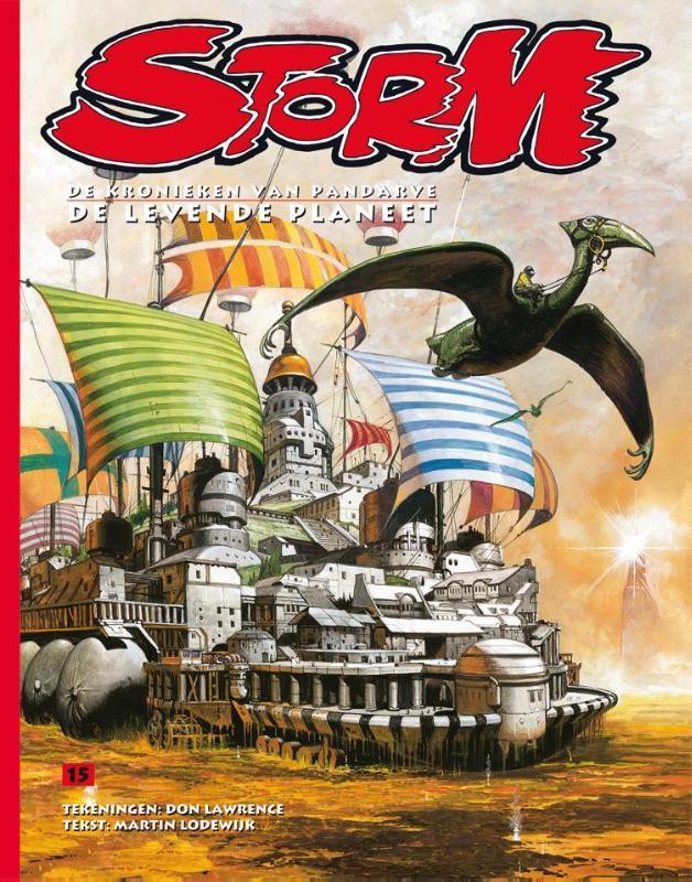De levende planeet STORM, Don Lawrence, Hardcover