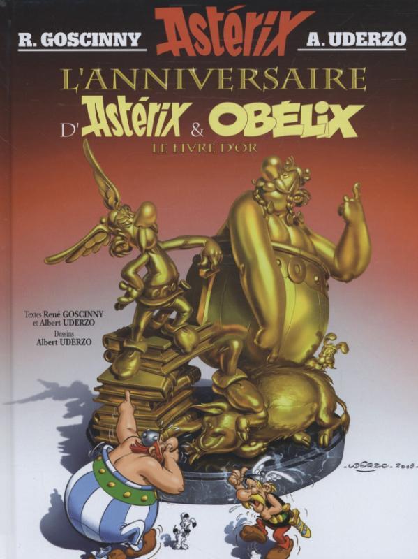 ASTERIX HC34. LE LIVRE D'OR D'ASTERIX ASTERIX, Albert Uderzo, Hardcover