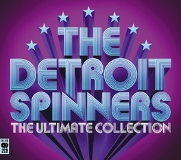ULTIMATE COLLECTION STERLING 2-CD RETROSPECTIVE DETROIT SPINNERS, CD