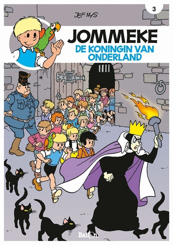 De koningin van Onderland JOMMEKE STRIP, Nys, Jef, Paperback