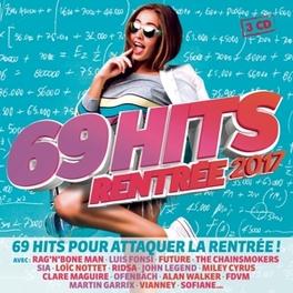 69 HITS RENTREE 2017 V/A, CD