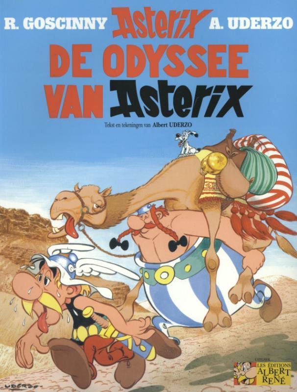 ASTERIX 26. DE ODYSSEE VAN ASTERIX ASTERIX, UDERZO, ALBERT, GOSCINNY, RENÉ, Paperback