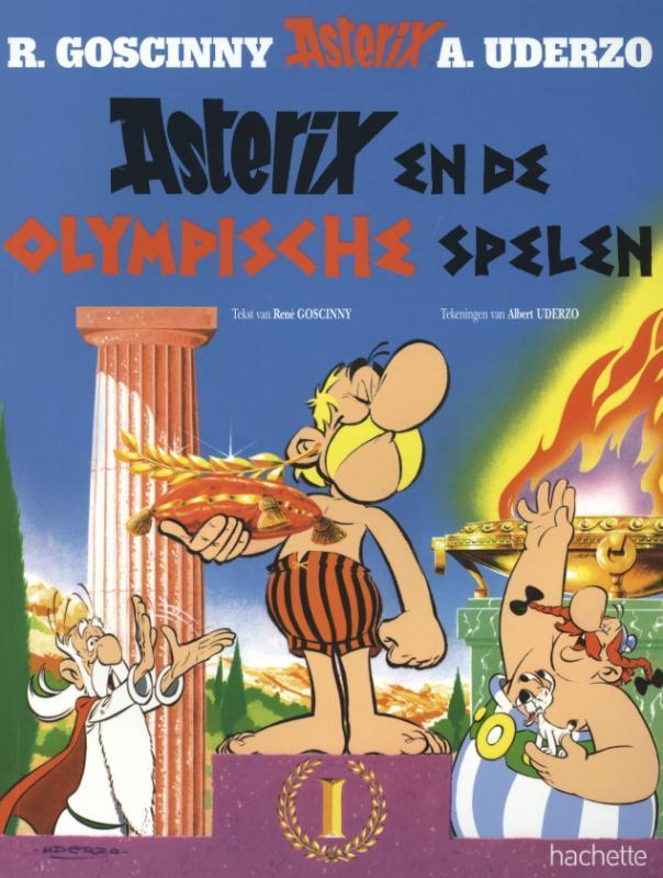 ASTERIX 12. ASTERIX EN DE OLYMPISCHE SPELEN ASTERIX, UDERZO, ALBERT, GOSCINNY, RENÉ, Paperback