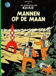 KUIFJE 17. MANNEN OP DE MAAN KUIFJE, HERGE, Paperback