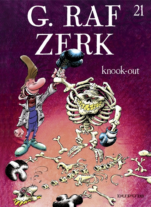 G.RAF ZERK 21. KNOOK-OUT G.RAF ZERK, HARDY, MARC, CAUVIN, RAOUL, Paperback