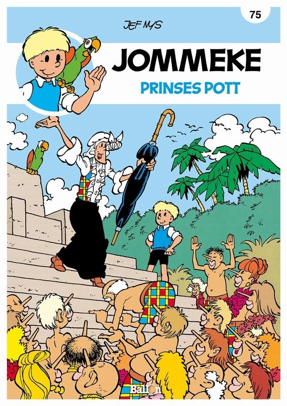 JOMMEKE 075. PRINSES POTT (HERDRUK) JOMMEKE, Nys, Jef, Paperback