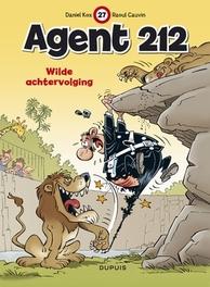AGENT 212 27. WILDE ACHTERVOLGING AGENT 212, KOX, CAUVIN, Paperback