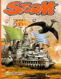 De levende planeet Storm De kronieken van Pandarve, Don Lawrence, Paperback