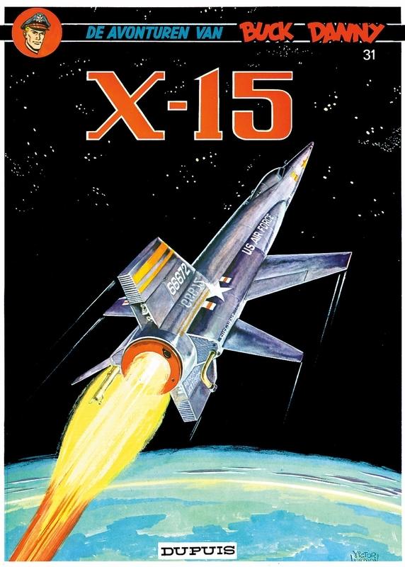 BUCK DANNY 031. X-15 BUCK DANNY, Charlier, Jean-Michel, Paperback