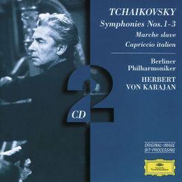 SYMPHONIES NO.1-3 BERLIN P.O./HERBERT VON KARAJAN Audio CD, P.I. TCHAIKOVSKY, CD
