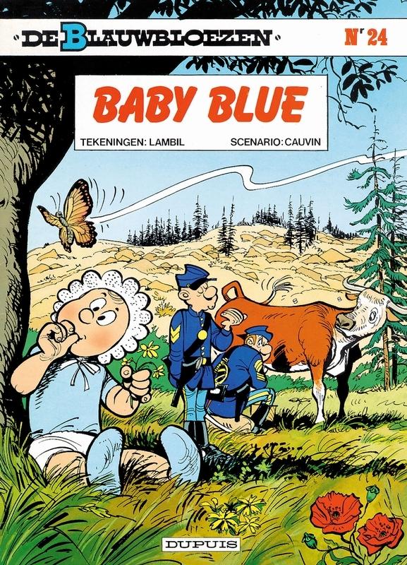 BLAUWBLOEZEN 24. BABY BLUE BLAUWBLOEZEN, LAMBIL, WILLY, CAUVIN, RAOUL, Paperback