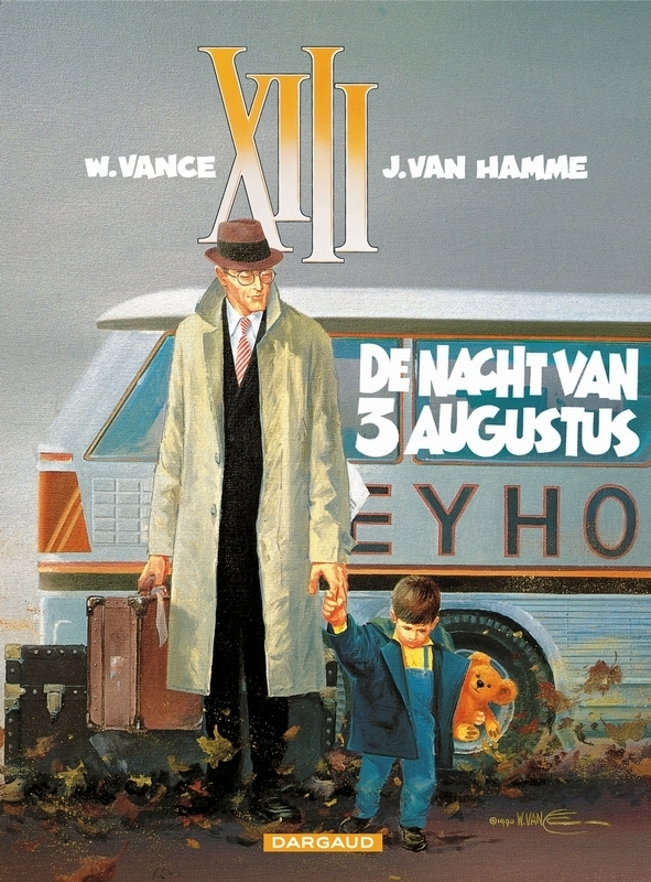 COLLECTIE XIII 07. NACHT VAN 3 AUGUSTUS COLLECTIE XIII, VANCE, WILLIAM, HAMME, JEAN VAN, Paperback