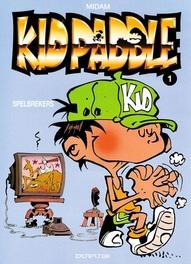 KID PADDLE 01. SPELBREKERS KID PADDLE, MIDAM, Paperback