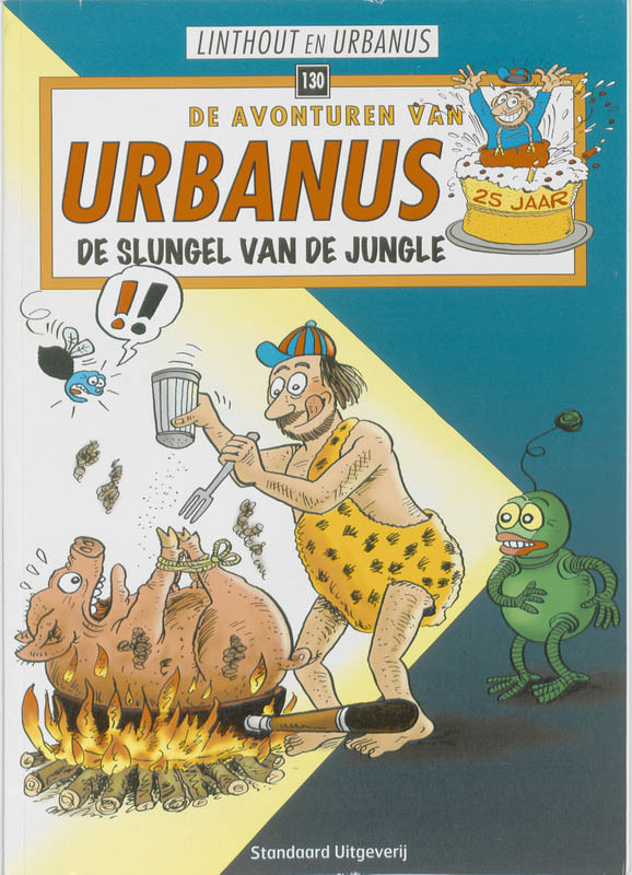 De slungel van de jungle URBANUS, Willy Linthout, Paperback