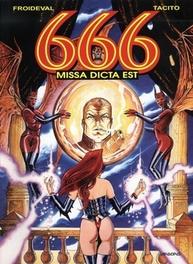 666 06. MISSA DICTA EST 666, TACITO, FRANCK, MARCELA-FROIDEVAL, FRANCOIS, Paperback