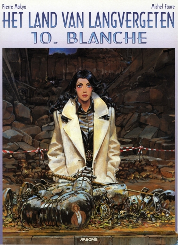 LAND VAN LANGVERGETEN 10. BLANCHE LAND VAN LANGVERGETEN, MAKYO, Paperback