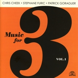 MUSIC FOR THREE VOL.1 Audio CD, STEPHANE FURIC, CD