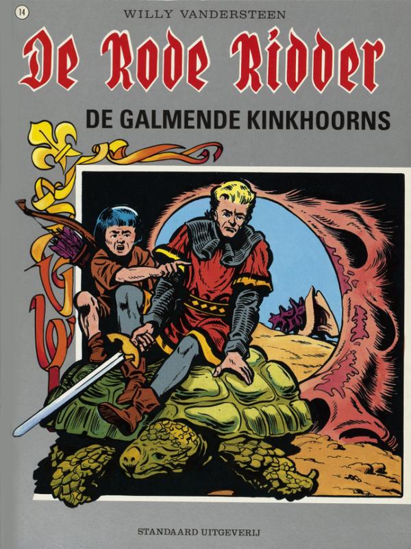 RODE RIDDER 014. DE GALMENDE KINKHOORNS RODE RIDDER, VANDERSTEEN, WILLY, Paperback
