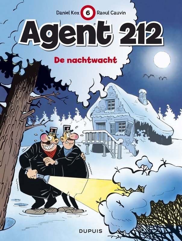 AGENT 212 06. DE NACHTWACHT AGENT 212, KOX, CAUVIN, Paperback