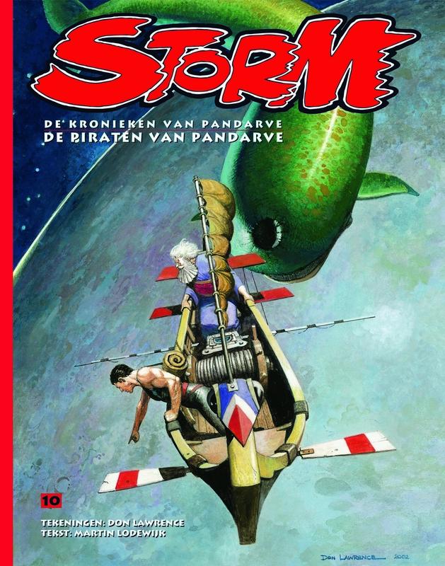 De piraten van Pandarve Storm De kronieken van Pandarve, Lodewijk, Martin, Paperback