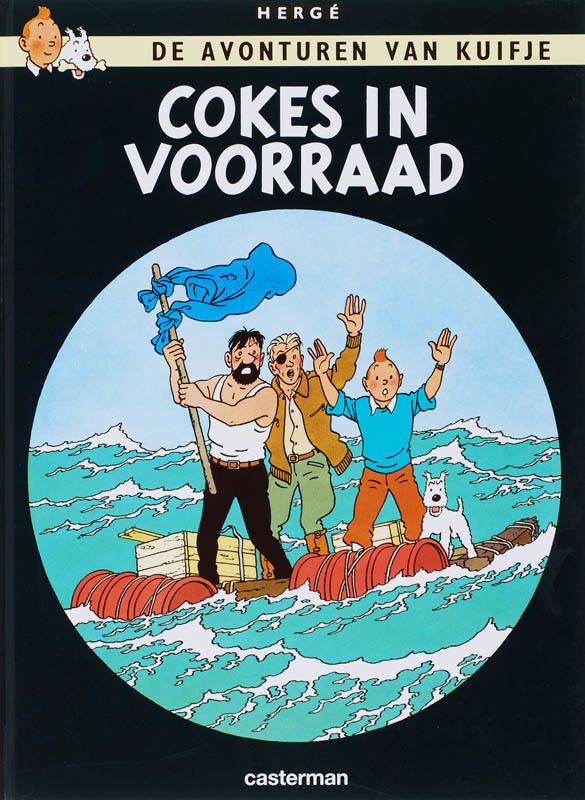 Kuifje: 18 cokes in voorraad KUIFJE, Hergé, Hardcover