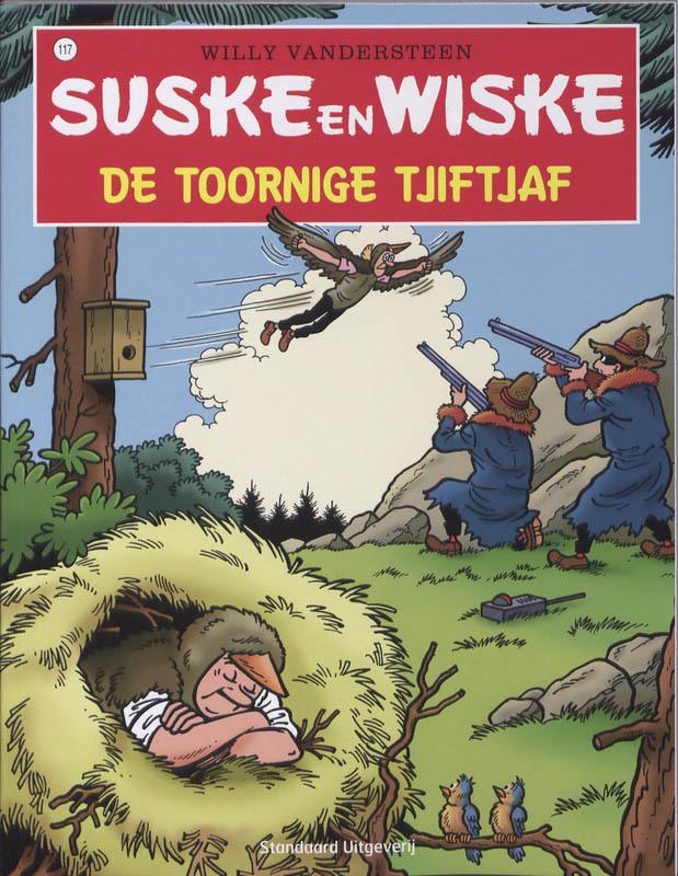 SUSKE EN WISKE 117. DE TOORNIGE TJIFTJAF (NIEUWE COVER) Suske en Wiske, VANDERSTEEN, WILLY, Paperback