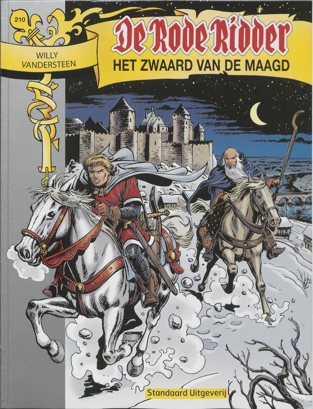 RODE RIDDER 210. HET ZWAARD VAN DE MAAGD De Rode Ridder, VANDERSTEEN, WILLY, Paperback