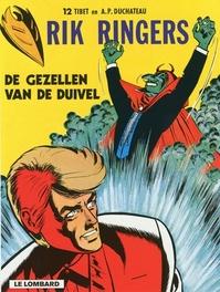 RIK RINGERS 12. GEZELLEN VAN DE DUIVEL RIK RINGERS, TIBET, Paperback