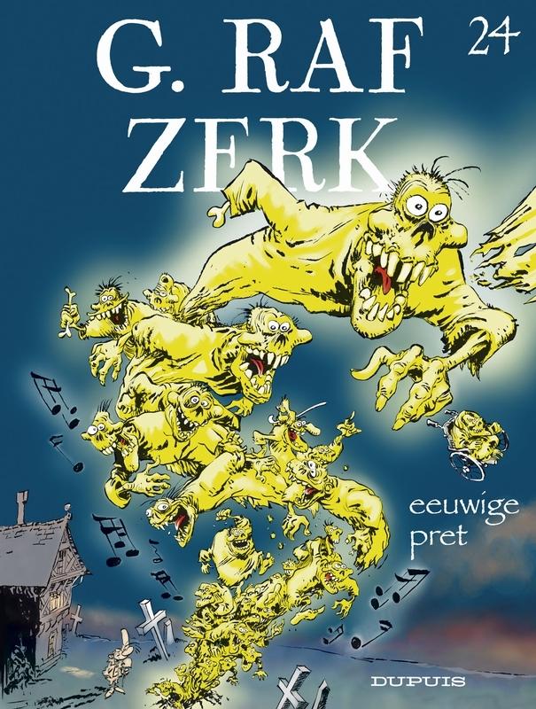 G.RAF ZERK 24. EEUWIGE PRET G.RAF ZERK, HARDY, MARC, CAUVIN, RAOUL, Paperback