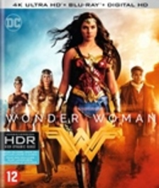 WONDER WOMAN -4K- BILINGUAL /CAST: GAL GADOT, CHRIS PINE, ROBIN WRIGHT. MOVIE, Blu-Ray