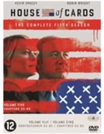 House of cards - Seizoen 5, (DVD) BILINGUAL /CAST: KEVIN SPACEY, ROBIN WRIGHT Dobbs, Michael, DVDNL