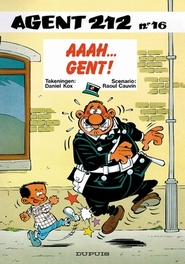AGENT 212 16. AAAH...GENT! AGENT 212, Cauvin, Raoul, Paperback