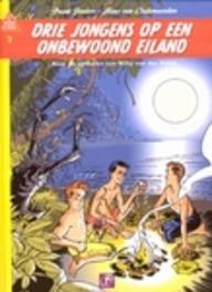 BOB EVERS 03. DRIE JONGENS OP EEN ONBEWOOND EILAND BOB EVERS, Van der Heide, Willy, Paperback