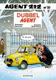 AGENT 212 10. DUBBEL AGENT AGENT 212, KOX, DANIËL, CAUVIN, RAOUL, Paperback