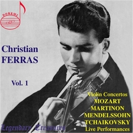 LEGENDARY TREASURES VOL.1 Audio CD, CHRISTIAN FERRAS, CD