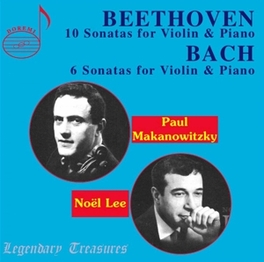 10 SONATAS FOR VIOLIN & P PAUL MAKNOWITZKY/NOEL LEE Audio CD, L. VAN BEETHOVEN, CD