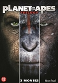 Planet of the apes 1-3 , (DVD)